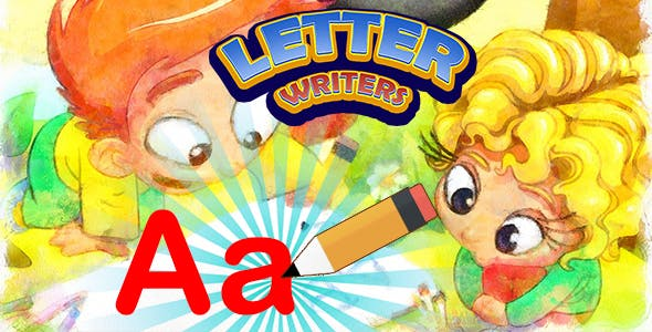 Letter Writers Game for Kids (CAPX and HTML5)