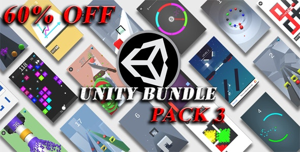 Unity Games Bundle Pack 3 - 60% OFF - CodeCanyon Item for Sale