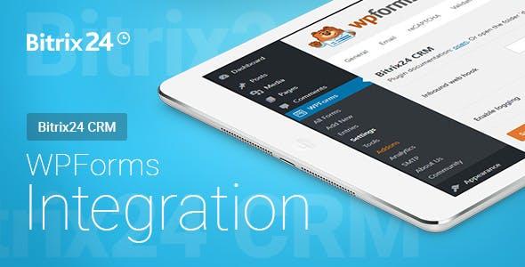 WPForms - Bitrix24 CRM - Integration   WPForms - Bitrix24 CRM - Интеграция