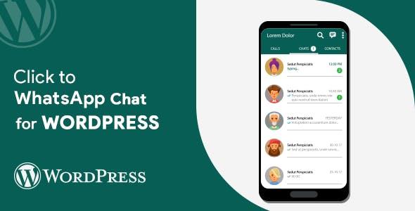 Click to WhatsApp Chat WordPress Plugin