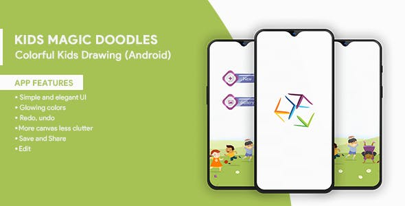 Kids Magic Doodles - Colorful Kids Drawing (Android)