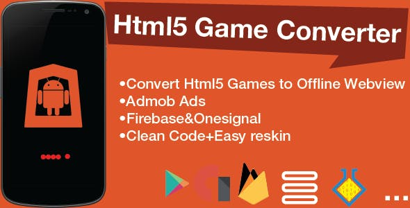 Convert Html5 Game to Android Game with Firebase Database