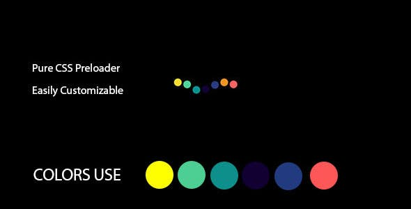 Pure CSS Preloader