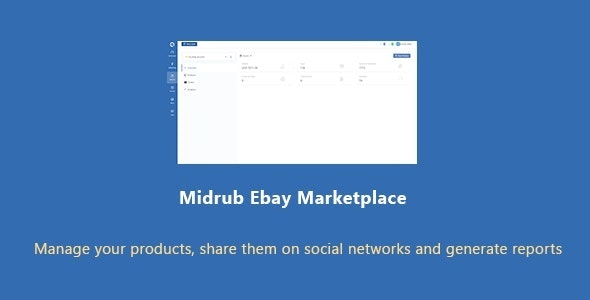 Midrub Ebay Marketplace - Script for Dropshipping and Ebay Management - CodeCanyon Item for Sale