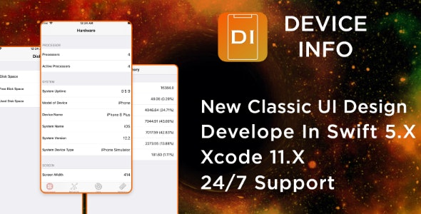 iOS Device Info - iOS Source Code - CodeCanyon Item for Sale