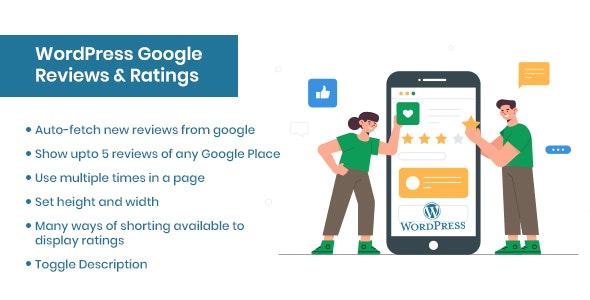 WordPress Google Reviews & Ratings - CodeCanyon Item for Sale