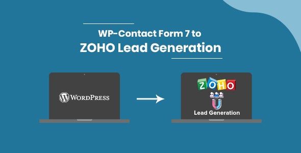 WP-Contact Form 7 to ZOHO Lead Generation - CodeCanyon Item for Sale