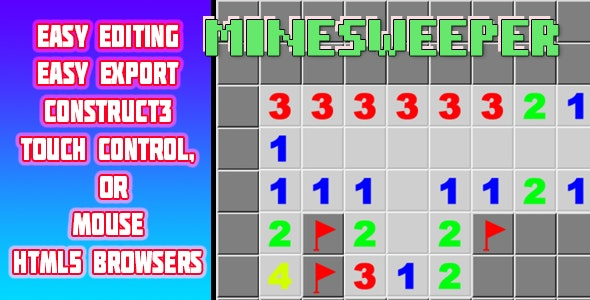 minesweeper - CodeCanyon Item for Sale