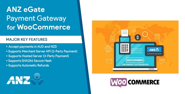 ANZ eGate Payment Gateway WooCommerce Plugin - CodeCanyon Item for Sale