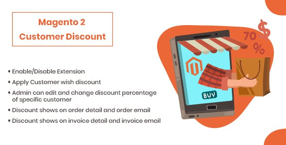 Customer Discount Magento 2 Extension