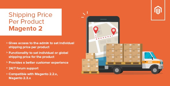 Shipping Price Per Product Magento 2 - CodeCanyon Item for Sale