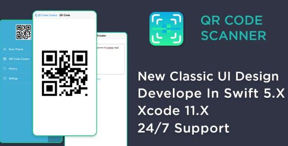 QR Code Generator & Scanner - iOS Source Code