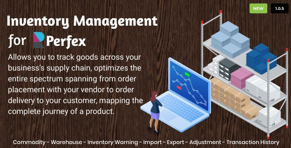 Inventory Management for Perfex CRM - CodeCanyon Item for Sale