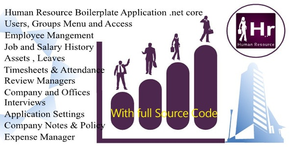 Solid Hrms (Human Resource Management system) Boilerplate app | Open Source | mvc .net core - CodeCanyon Item for Sale