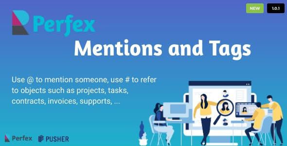 Mention and Tag for Perfex CRM
