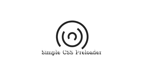 Simple CSS Preloader