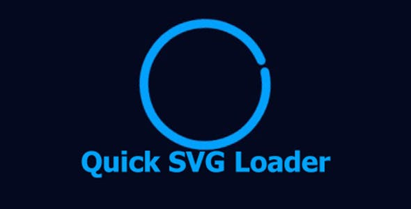 Quick SVG Loader Animation Effects