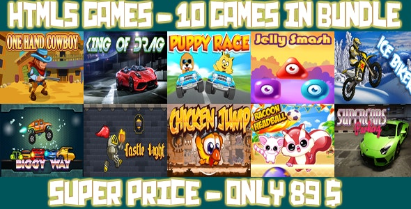 Casual 10 games - Bundle 3 - CodeCanyon Item for Sale