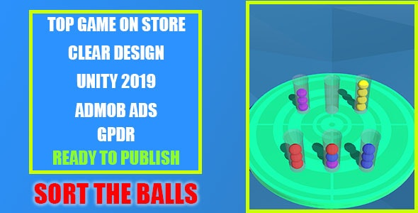 Sort The Balls: Top Trending Game - CodeCanyon Item for Sale