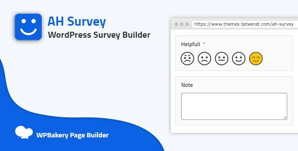 AH Survey - Survey Builder With Multiple Questions Types - CodeCanyon Item for Sale