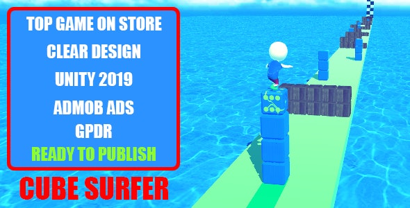 Cube Surfer: Top Trending Game - CodeCanyon Item for Sale