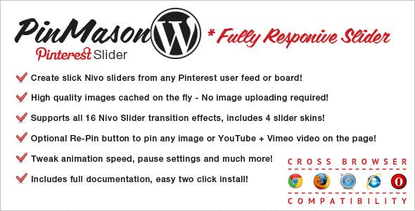 PinMason Responsive Slider for WordPress