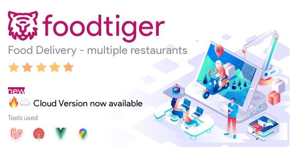 FoodTiger v2.4.3 – Food delivery – Multiple Restaurants