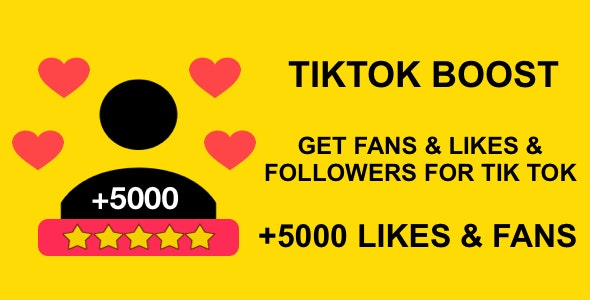 Tikbooster Get Tik Tok Followers For Free Android App Admob Integration By Maac1984