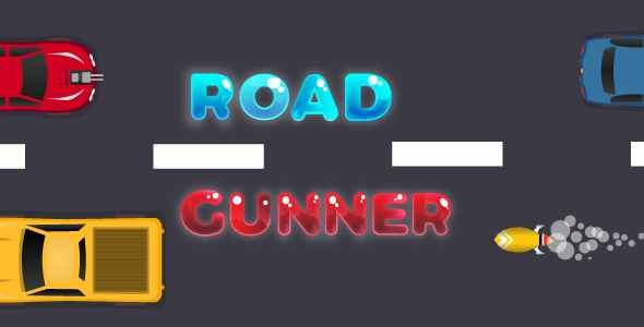 Road Gunner | Car Shooter Game | Unity Complete Project for Android and iOS - CodeCanyon Item for Sale