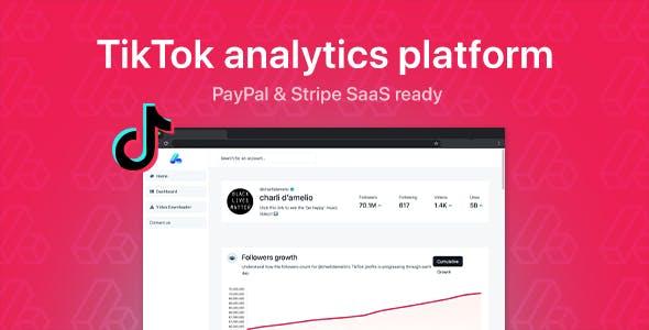 phpStatistics - TikTok Analytics Platform (SAAS Ready)