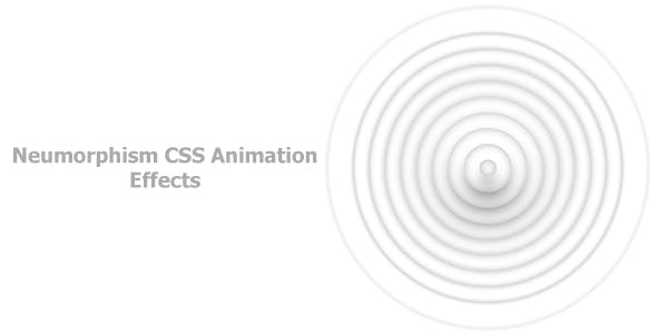Neumorphism CSS Animation Effects