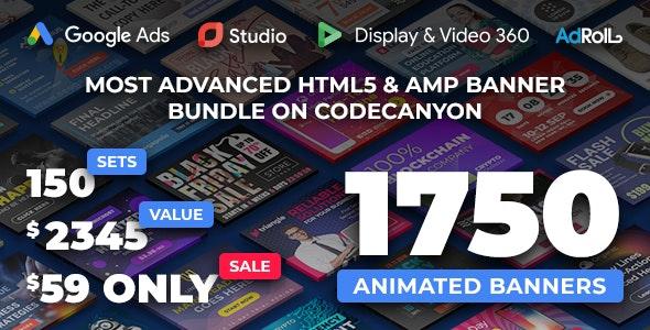 Yn Bundle Most Advanced Html5 Banner Bundle Made With Google Web Designer By Y N