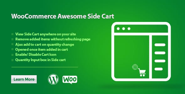 WooCommerce Awesome Side Cart