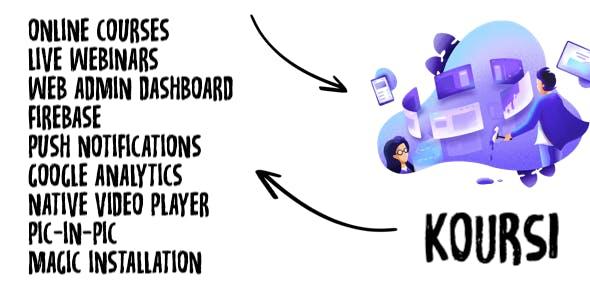 Koursi - Online Educational App