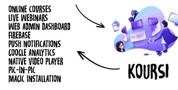 Koursi - Online Educational App - CodeCanyon Item for Sale