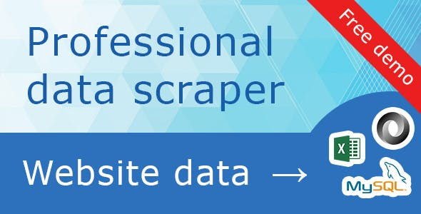 DataExcavator - web scraping server