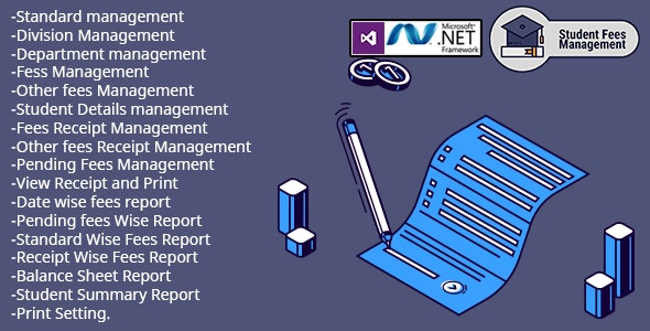 School Fees Management – Useful for Tuition, Classes, Education Center, Academy, Coaching Center - CodeCanyon Item for Sale