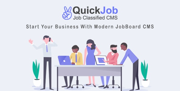 QuickJob - Job Board Job Portal PHP Script - CodeCanyon Item for Sale