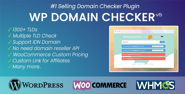 WP Domain Checker - CodeCanyon Item for Sale
