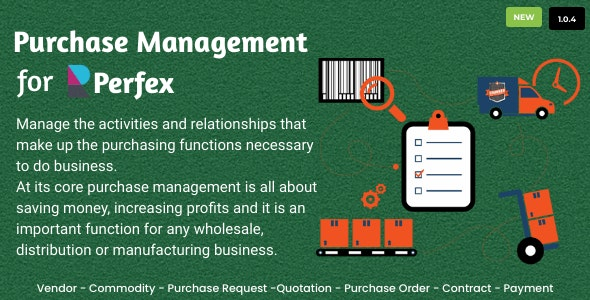 Purchase Management for Perfex CRM - CodeCanyon Item for Sale