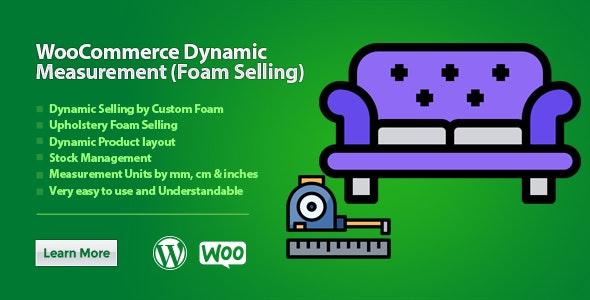 WooCommerce Dynamic Measurement (Foam Selling) - CodeCanyon Item for Sale