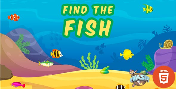 Find The Fish - HTML5 Fish Game