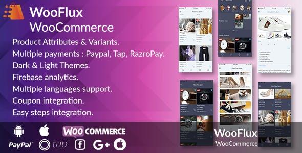 Flutter WooCommerce Full App - WooCommerce Shopping, Delivery Flutter App