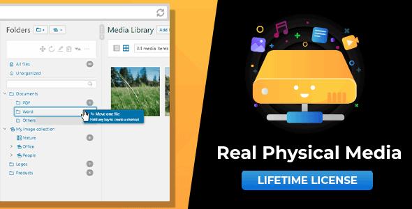 WordPress Real Physical Media: Physical Media Folders & SEO Rewrites - CodeCanyon Item for Sale
