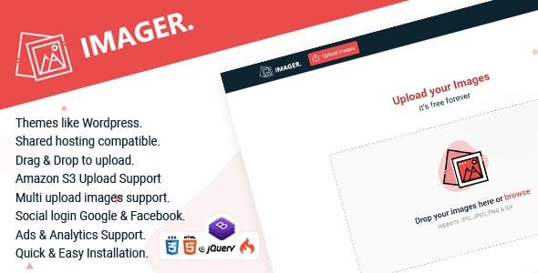 Imager - Minimal Image Hosting Script