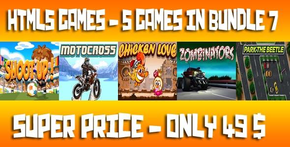 Casual 5 Games - Bundle 7