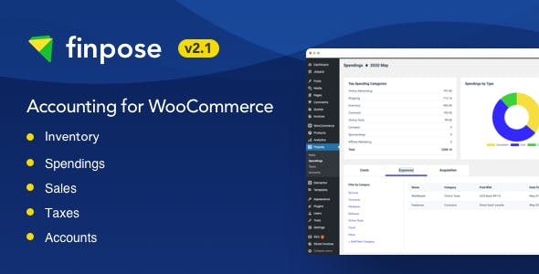 Finpose - Accounting for WooCommerce