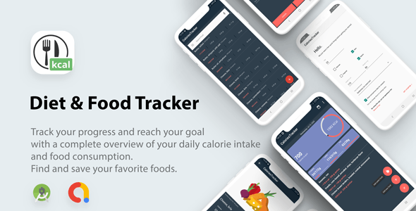 Diet & Food Tracker ( calories counter)