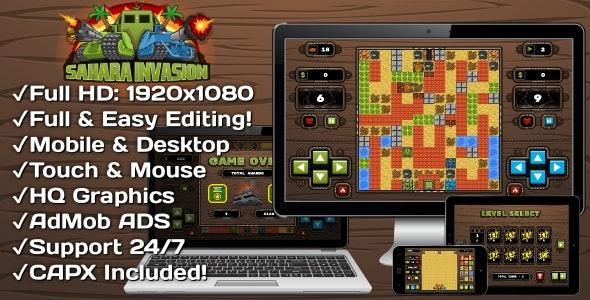 100 HTML5 GAMES SUPER BUNDLE (Construct 3 | Construct 2 | Capx) - 5