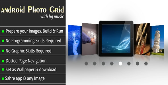 Android Photo Grid With Bg Music - CodeCanyon Item for Sale